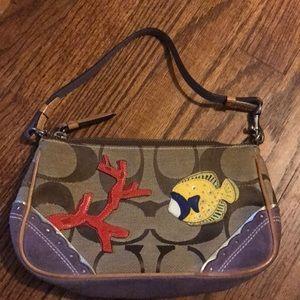 Coach purse small handbag